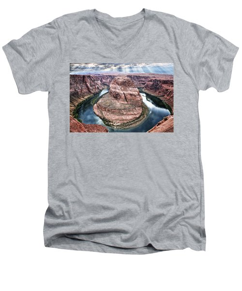 Grand Canyon Horseshoe Bend Men's V-Neck T-Shirt
