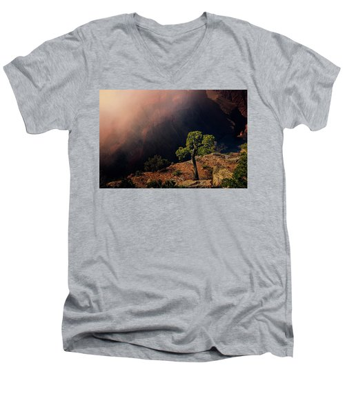 Grand Canyon Juniper Men's V-Neck T-Shirt