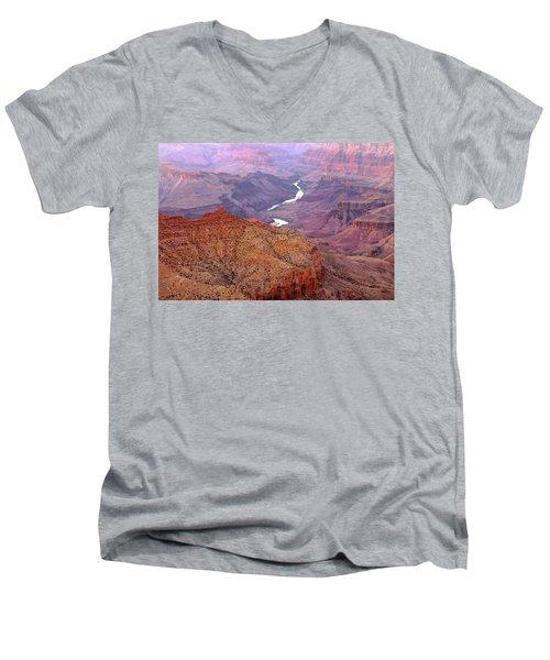Grand Canyon River View Men's V-Neck T-Shirt