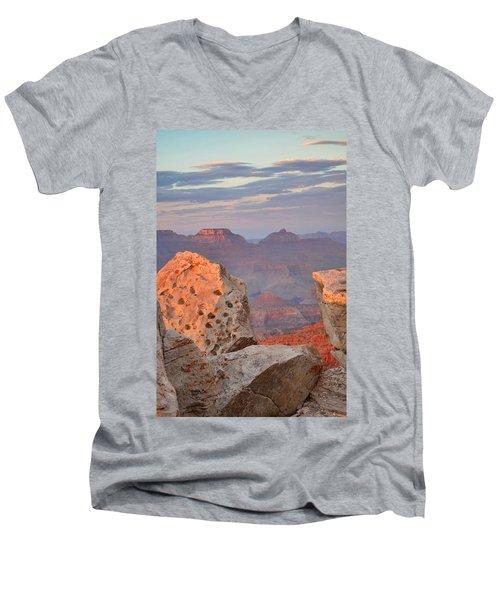 Grand Canyon Men's V-Neck T-Shirt