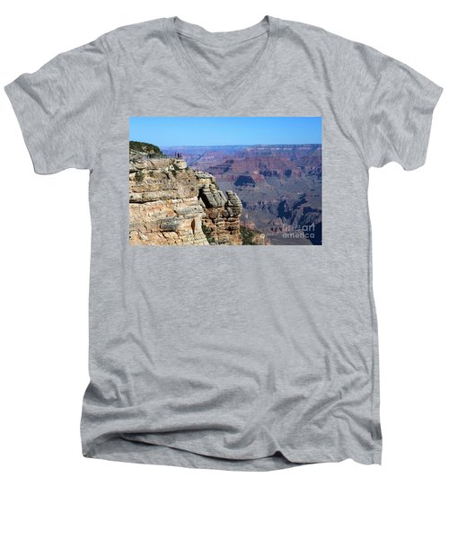 Grand Canyon South Rim Men's V-Neck T-Shirt