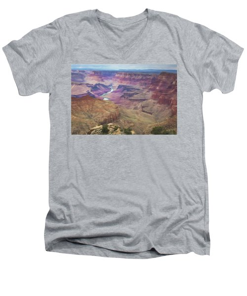 Grand Canyon Suite Men's V-Neck T-Shirt
