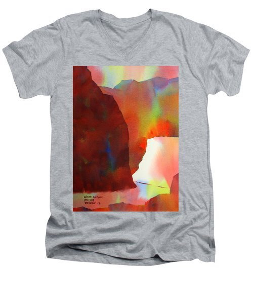 Grand Canyon Men's V-Neck T-Shirt