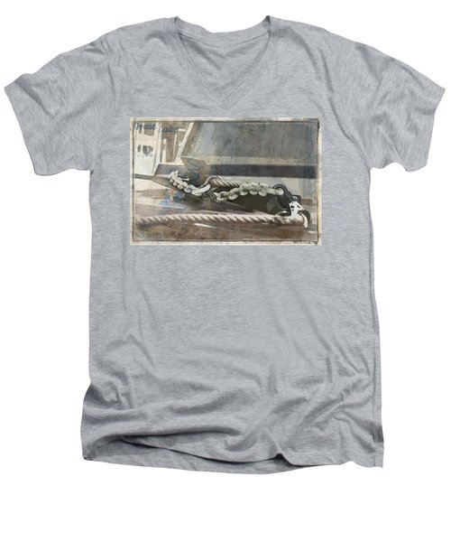 Grand Lake Boat Men's V-Neck T-Shirt