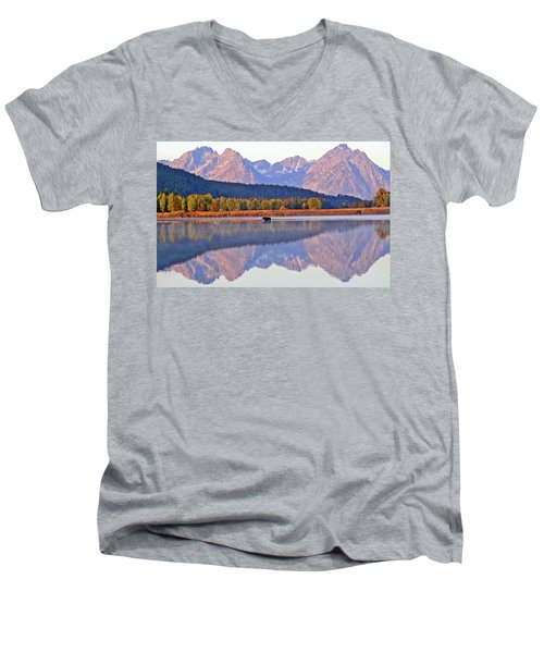 Grand Reflections Men's V-Neck T-Shirt