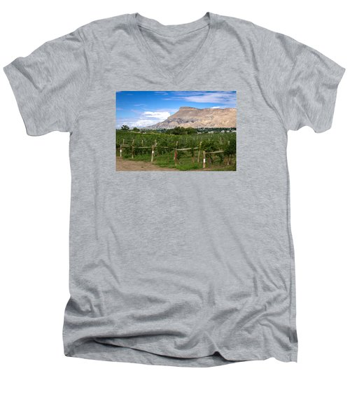 Grand Valley Vineyards Men's V-Neck T-Shirt