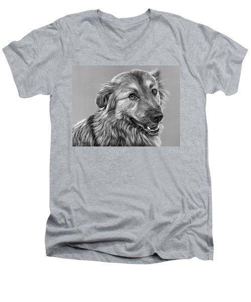 Granddog Kuper Men's V-Neck T-Shirt
