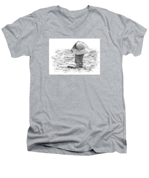 Grandma's Hat Men's V-Neck T-Shirt