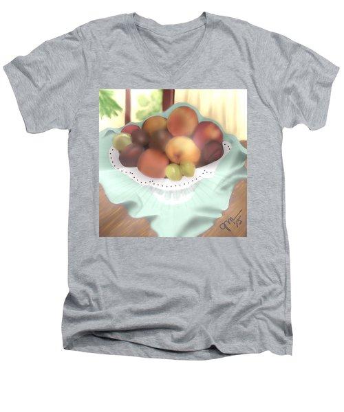 Grandma's Table Men's V-Neck T-Shirt