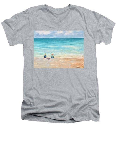 Grandmas View Men's V-Neck T-Shirt