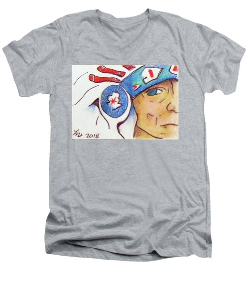 Grandpa Chief Men's V-Neck T-Shirt