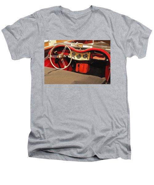 Grandpa's Garage Men's V-Neck T-Shirt