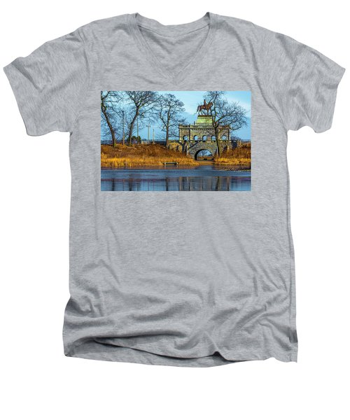 Grant Memorial Lincoln Park Dsc3218 Men's V-Neck T-Shirt