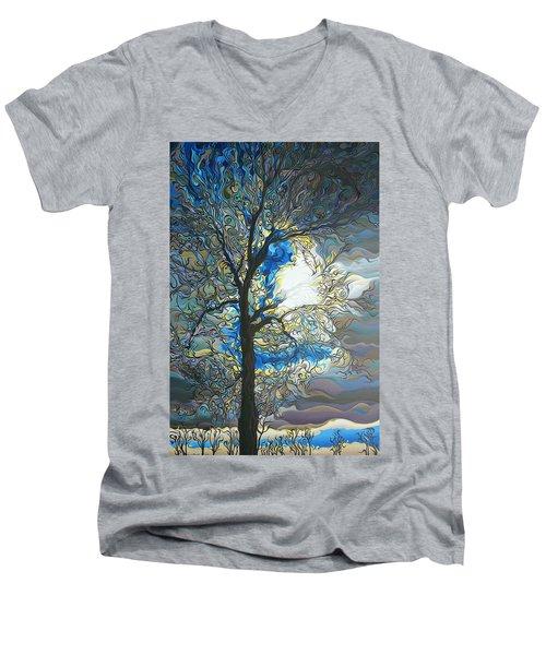 Grasping At Sunshine Men's V-Neck T-Shirt