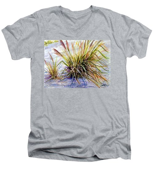 Grass 1 Men's V-Neck T-Shirt