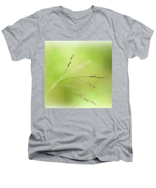 Grass Men's V-Neck T-Shirt