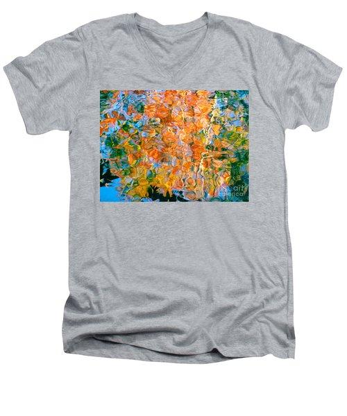 Grateful Heart Men's V-Neck T-Shirt