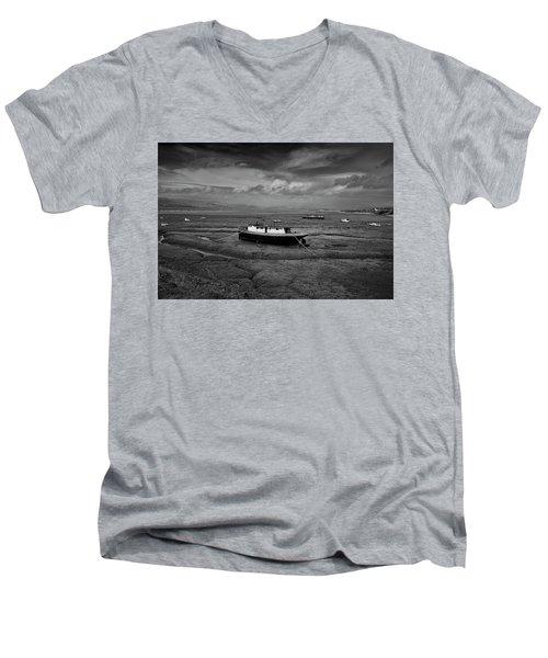Graveyard Men's V-Neck T-Shirt