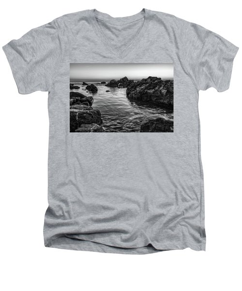 Gray Waters Men's V-Neck T-Shirt