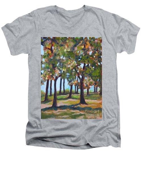 Great Outdoors Men's V-Neck T-Shirt