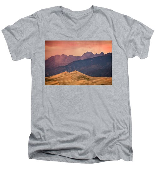 Great Sand Dunes Colorado Men's V-Neck T-Shirt