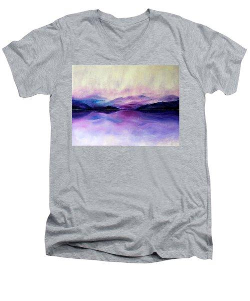 Great Smoky Lakeside Men's V-Neck T-Shirt