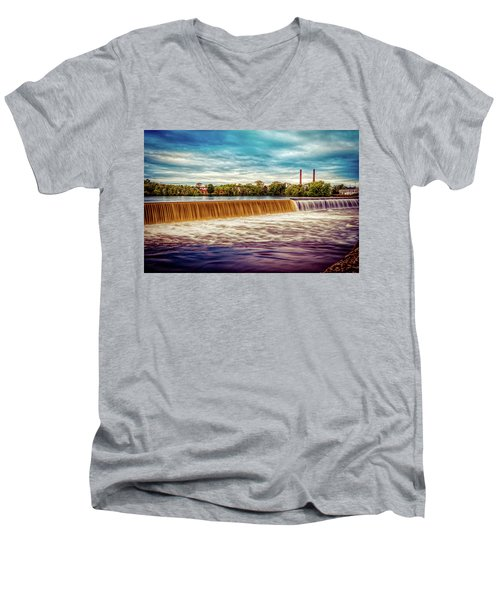 Great Stone Dam Men's V-Neck T-Shirt