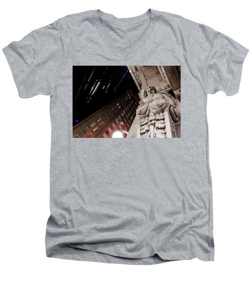 Greek God Men's V-Neck T-Shirt