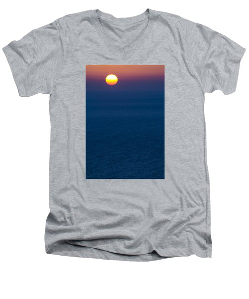 Greek Sunset Men's V-Neck T-Shirt
