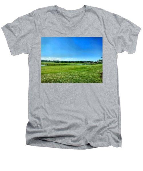 Green Acres 2018 Men's V-Neck T-Shirt