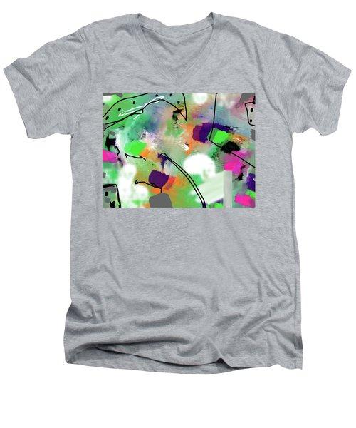 Green Day Men's V-Neck T-Shirt