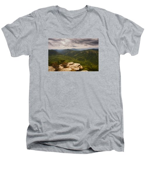 Green Gorge Men's V-Neck T-Shirt