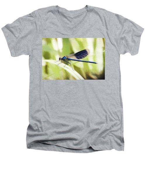 Green Story Men's V-Neck T-Shirt