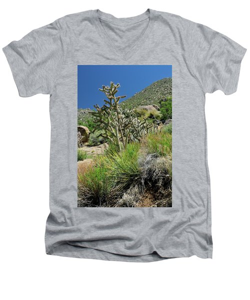 Greening Of The High Desert Men's V-Neck T-Shirt