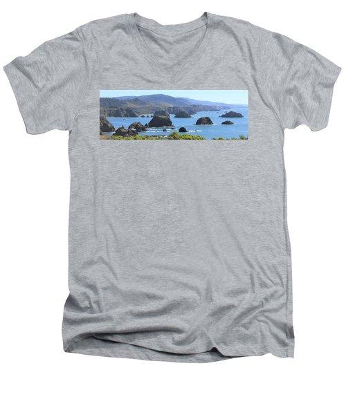 Greenwood Vista Men's V-Neck T-Shirt