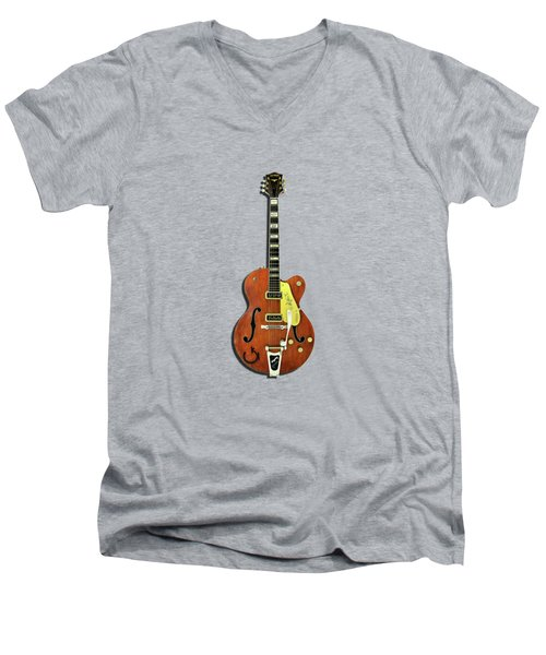 Gretsch 6120 1956 Men's V-Neck T-Shirt by Mark Rogan