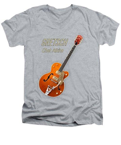 Gretsch  Chet Atkins Men's V-Neck T-Shirt