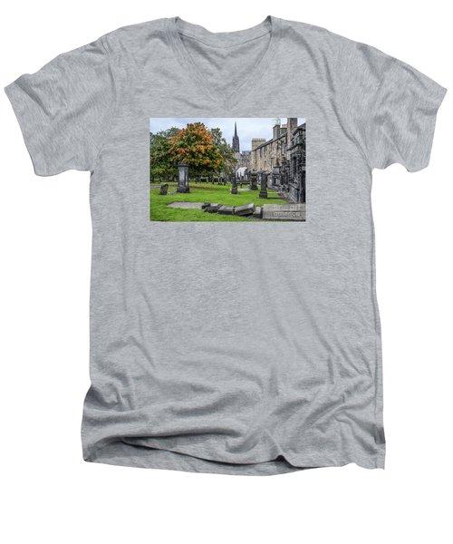 Greyfriars Kirkyard 1562  Men's V-Neck T-Shirt