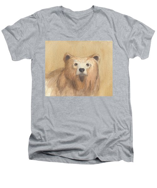 Grizzly Men's V-Neck T-Shirt