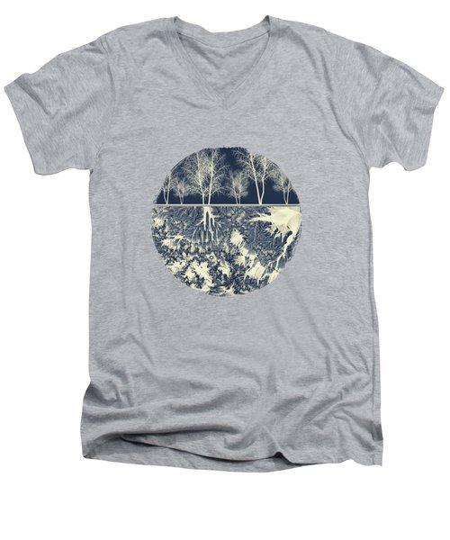 Grounded Men's V-Neck T-Shirt