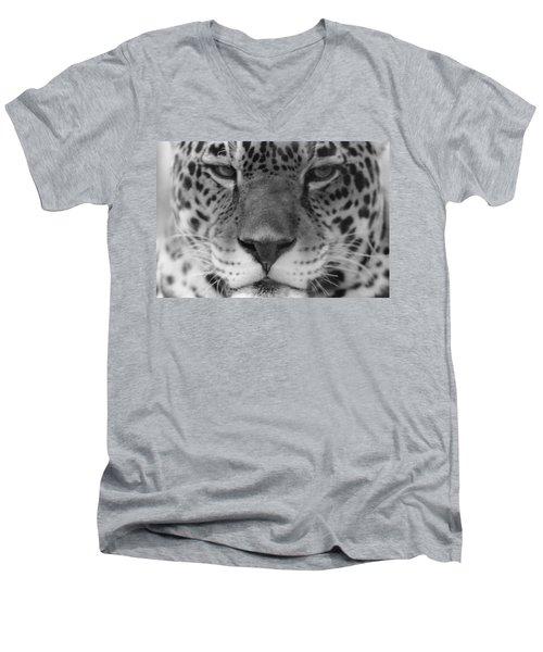 Grumpy Tiger  Men's V-Neck T-Shirt