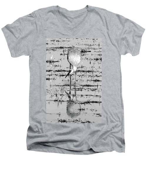 Grus Canadensis 2 Men's V-Neck T-Shirt