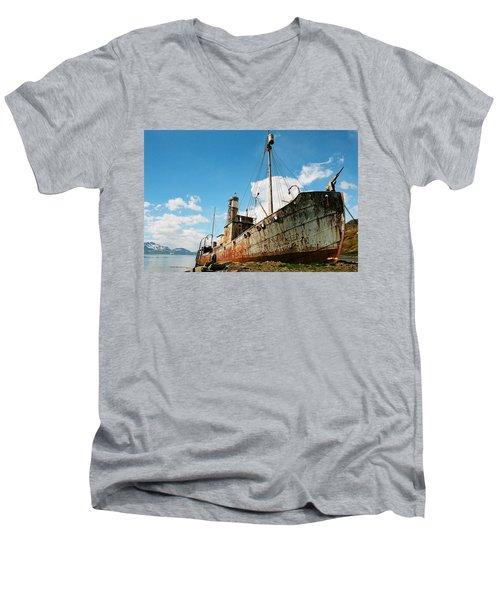 Grytviken Whaler Men's V-Neck T-Shirt