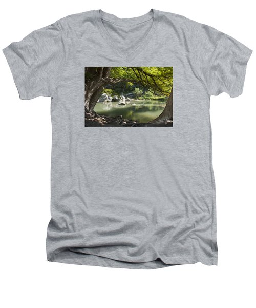Guadalupe River Men's V-Neck T-Shirt