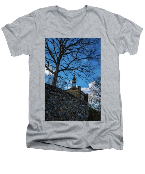 Guarded Summit Memorial Men's V-Neck T-Shirt
