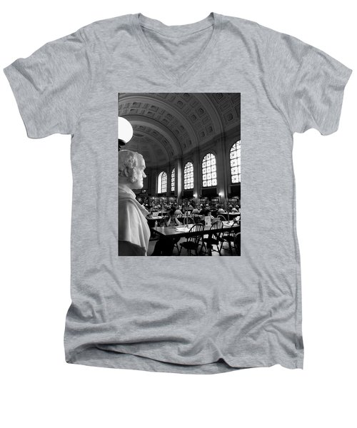 Guarding The Knowledge Men's V-Neck T-Shirt