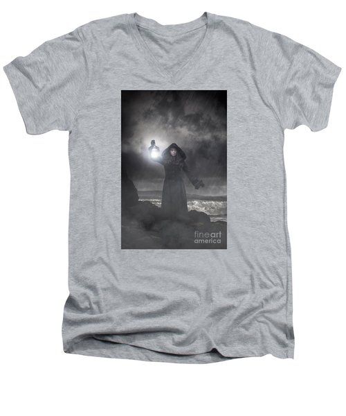 Guiding Light Men's V-Neck T-Shirt
