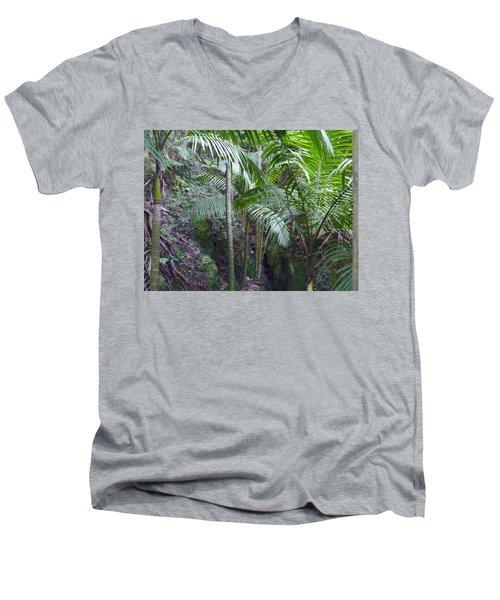 Guilarte's Forest Men's V-Neck T-Shirt