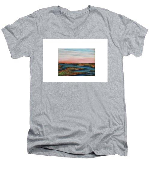 Guilded Edge Men's V-Neck T-Shirt