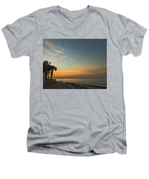 Gulf Of Mexico Sunrise Men's V-Neck T-Shirt